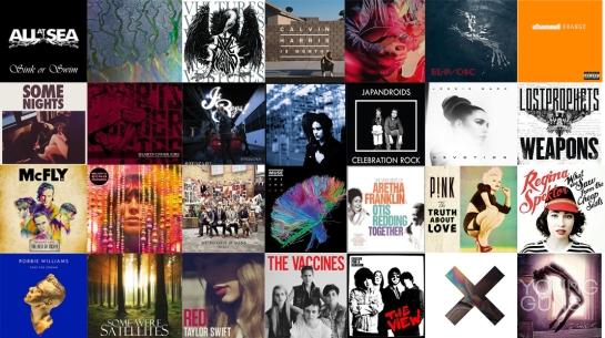 2012albums